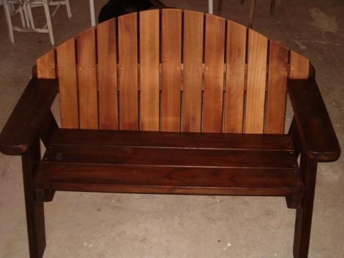 ספסל עץ דגם מורן